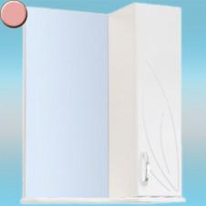 Зеркало-шкаф СТК ВЕСНА правый 570х717х230 розовый, без подсветки