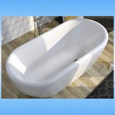 Ванна акриловая RIHO BILBAO 1500х750 без ножек, без гидромассажа