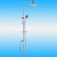 Душевая стойка KAISER 2060 без смесителя, тропическим душем, хром