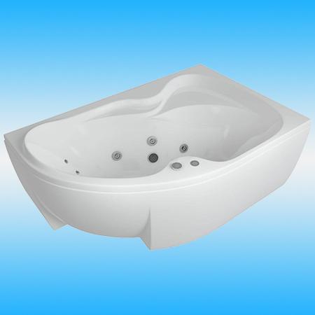 Экран фронтальный для акриловой ванны AQUATEK ВЕГА 1700 правый, белый
