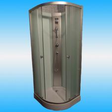Душевой уголок OSK-А03 900x900 низкий поддон, матовое стекло