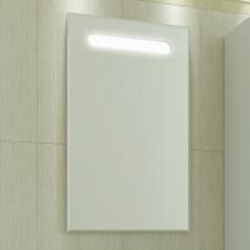 Зеркало САНТА КЛАССИК 80, 1 полка, 2 светильника, 800х700х20
