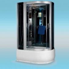 Душевая кабина LUXUS 520L поддон высокий 1200x800x2150 серое стекло, левая