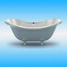 Ванна мраморная ESSE RODOS свободностоящая 1950х910х855