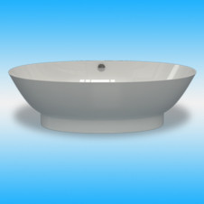 Ванна мраморная ESSE BARBADOS свободностоящая 1815х875х570