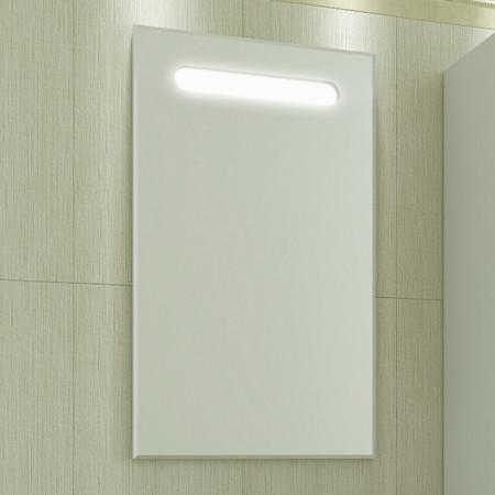 Зеркало САНТА ЛОНДОН 50 с LED подсветкой, механический выключатель 500х850