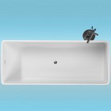 Ванна аквариловая AQUATIKA МОНО 1700х700x650 монолитная отдельностоящая, без гидромассажа