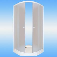 Ванна аквариловая AQUATIKA САБЗЕРО 2070х1600x900 левая, монолитная на подиуме, без гидромассажа