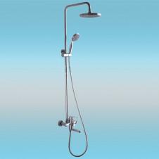 Душевая стойка LEDEME L2402 со смесителем и тропическим душем