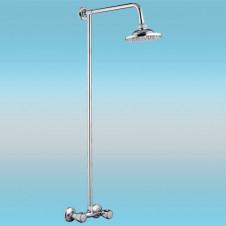 Душевая стойка LEDEME L2394 со смесителем и тропическим душем