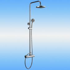 Душевая стойка LEDEME L2401 со смесителем и тропическим душем