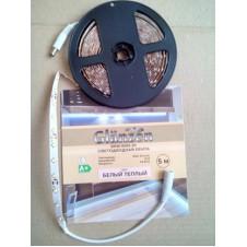 Светодиодная лента GLANZEN BRW-0002-20 (5м) белый теплый