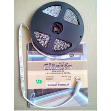 Светодиодная лента GLANZEN BRW-0007-20 (5м) белый теплый