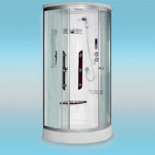 Душевая кабина LUXUS Selesia 023D поддон низкий 900x900x2160 прозрачная