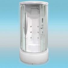 Душевая кабина LUXUS T11А поддон высокий 900x900x2160 прозрачная