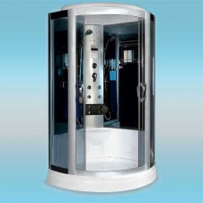 Душевая кабина LUXUS 535 поддон низкий 1100x1100x2200 серое стекло