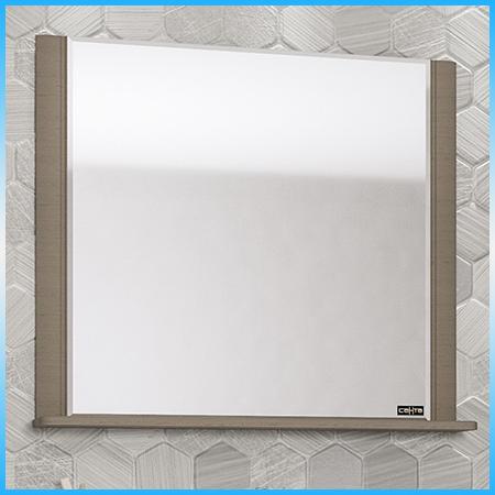 Зеркальный шкаф САНТА АЛЬТАИР 100 белый, 2 светильника, 2 дверцы, 1 полка 1012х760х175