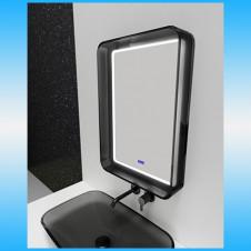 Зеркало ONIKA ОЛИМП 90.2 белый 2 светодиода