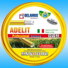 Шланг поливочный BELAMOS ADELIT армированный желтый ø 3/4, бухта 25м