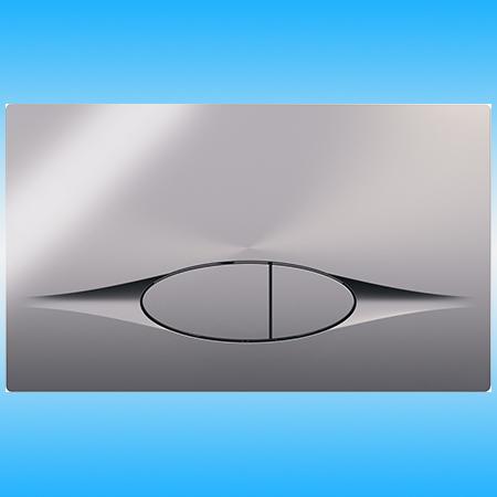 Кнопка для инсталляции JACOB DELAFON E29027-CP двойная, хром