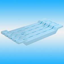 Сиденье на ванну ДУНЬЯ ДОГУШ пластик, голубое