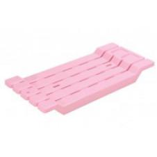 Сиденье на ванну ДУНЬЯ ДОГУШ пластик, розовое