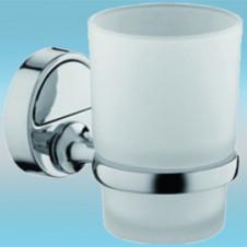Держатель стакана FRAP F3606 настенный, металлический, стекло/хром