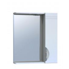 Шкаф зеркало VIGO JIKA 60 600x150x700 белый, правый с подсветкой