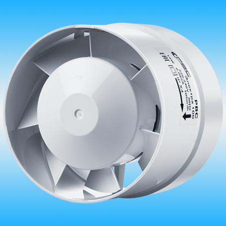 Вентилятор РВС ЭЛЕКТРА 150 осевой, канальный, белый