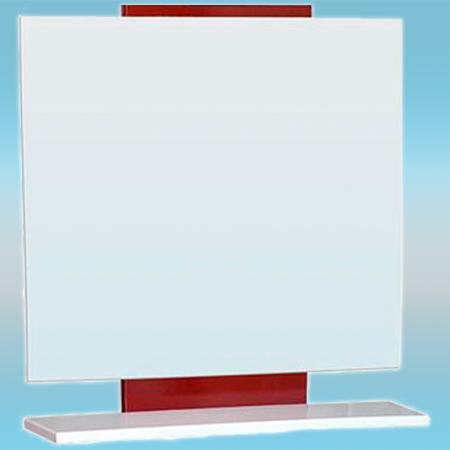 Зеркало СТК КВАДРО 70 700х700х156 вишня