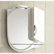 Шкаф зеркало VIGO CALLAO-55 550x150x700 белый, правый