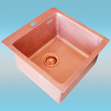 Мойка ZorG COPPER ZVIKOV Natural Copper ZC 5151 AC 510x510мм, 1чаша
