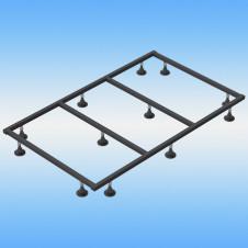 Поддон душевой стальной, квадрат 700x700x160 белый
