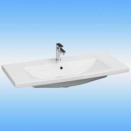Раковина мебельная CERSANIT COMO-100 белая 1000x450x165