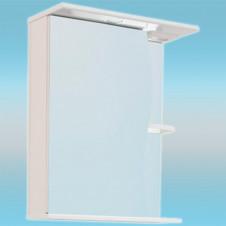 Зеркало-шкаф СТК ВОЛНА 500 С левый 500х700х234 с подсветкой