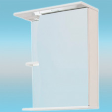 Зеркало-шкаф СТК ВОЛНА 500 С правый 500х700х234 с подсветкой