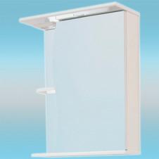 Зеркало-шкаф СТК ВОЛНА 500 правый 500х700х234 без подсветки