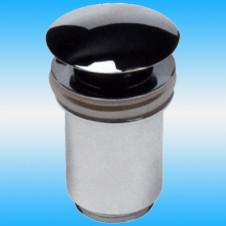Выпуск для сифона KAISER 8011 Click-Clack цельнометаллический, круглый