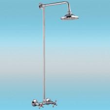 Душевая стойка LEDEME L2408 со смесителем и тропическим душем