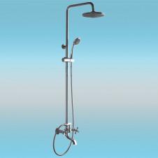 Душевая стойка LEDEME L2419 со смесителем и тропическим душем