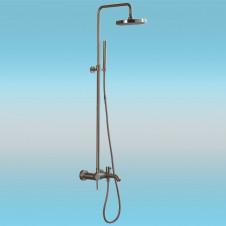 Душевая стойка LEDEME L2452A со смесителем и тропическим душем