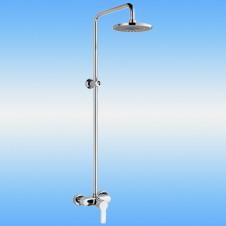 Душевая стойка LEDEME L2483 со смесителем и тропическим душем
