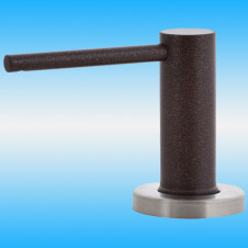 Дозатор EWIGSTEIN 002 малый, круглый, с колбой 500 мл, шоколад