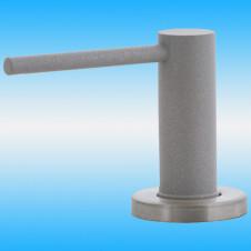 Дозатор EWIGSTEIN 002 малый, круглый, с колбой 500 мл, серый металлик
