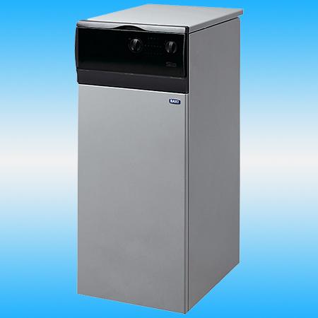 Котел газовый напольный BAXI SLIM EF 1.390 одноконтурный, с чугунным теплообменником 850х400х670