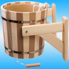 Обливное устройство КОНТРАСТ Русский душ, пластик.встав. наливной клапан 16л. (32422)