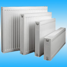 Радиатор стальной панельный Лидея ЛК 22-504 (длина 400мм), белый